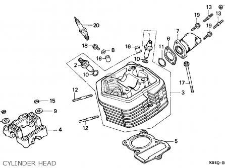 Honda XR100R 1998 (W) CANADA REF parts lists and schematics