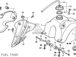 Honda XR100R 2001 (1) EUROPEAN DIRECT SALES parts lists