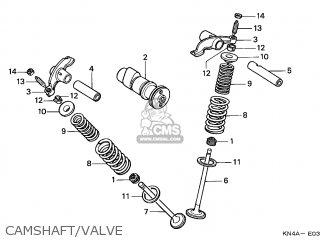 Honda XR100R 2002 (2) CANADA REF parts lists and schematics