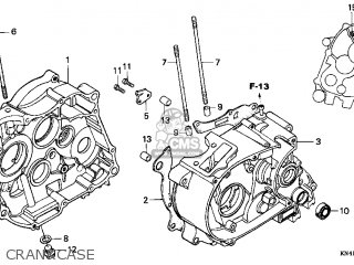 Honda XR100R 2002 (2) USA parts lists and schematics