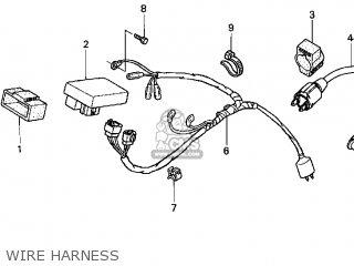 Honda XR100R 2003 (3) USA parts lists and schematics