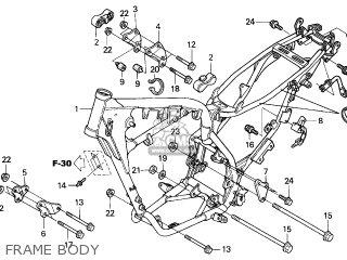 Honda XR125L 2003 (3) FRANCE parts lists and schematics