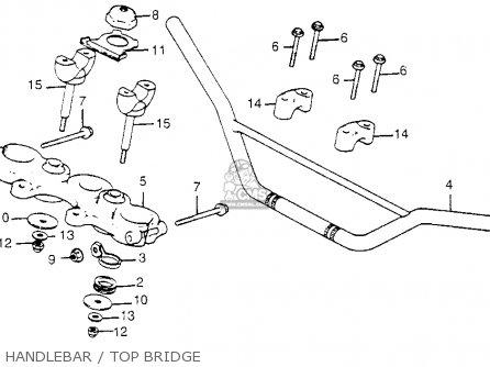 Honda Xr185 1979 (z) Usa parts list partsmanual partsfiche