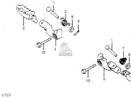 Honda XR185 1979 (Z) USA parts lists and schematics
