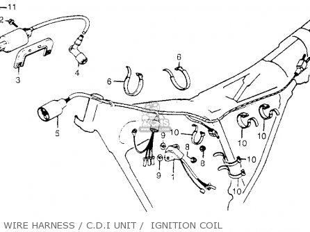 Honda Xr185 Usa parts list partsmanual partsfiche