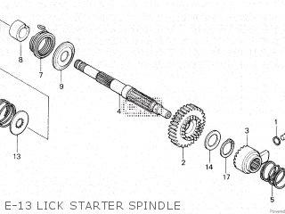 Honda XR200 1980 (A) CANADA parts lists and schematics