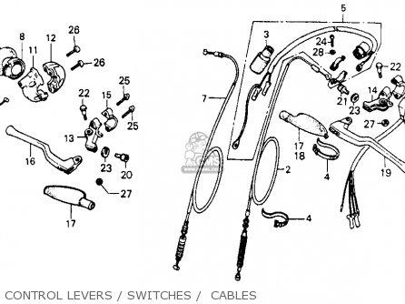 Honda Xr200 1980 (a) Usa parts list partsmanual partsfiche