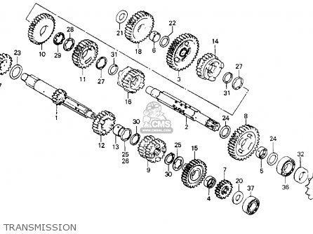 Honda XR200 1981 (B) USA parts lists and schematics