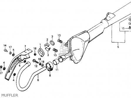 Honda XR200 1982 (C) USA parts lists and schematics