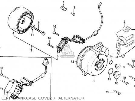 Honda Xr200 1983 (d) Usa parts list partsmanual partsfiche