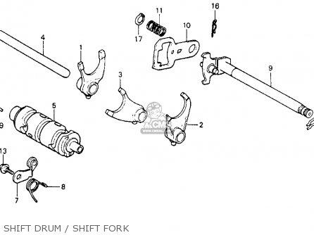 Honda Xr200 1984 (e) Usa parts list partsmanual partsfiche