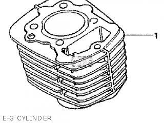 Honda XR200R 1981 (B) parts lists and schematics