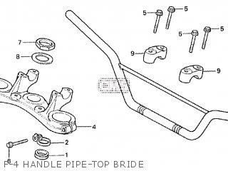 Honda XR200R 1982 (C) parts lists and schematics