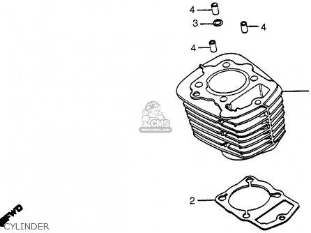 Honda XR200R 1982 (C) USA parts lists and schematics
