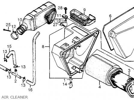 Honda Xr200r 1982 Usa parts list partsmanual partsfiche