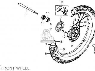 Honda XR200R 1983 (D) USA parts lists and schematics