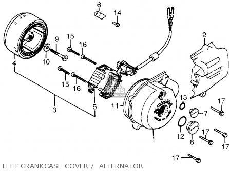 Honda Xr200r 1983 (d) Usa parts list partsmanual partsfiche
