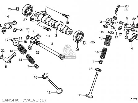 Honda Xr200r 1984 Australia parts list partsmanual partsfiche