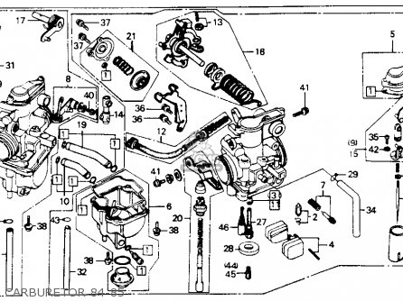 Honda Xr200r 1984 (e) Usa parts list partsmanual partsfiche
