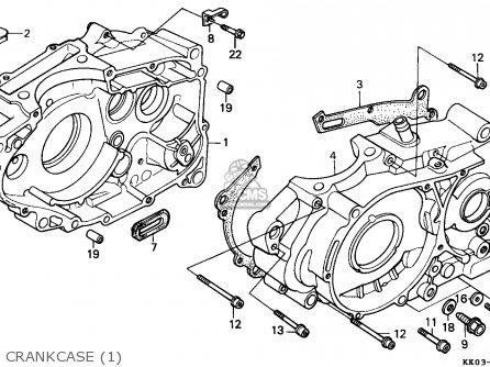 Honda XR200R 1985 (F) AUSTRALIA parts lists and schematics