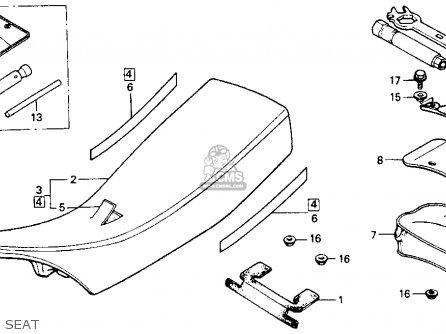 Honda XR200R 1985 (F) USA parts lists and schematics