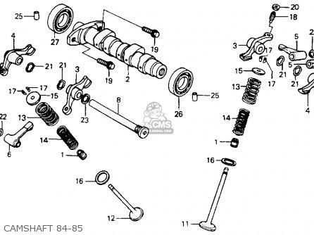 Honda Xr200r 1985 Usa parts list partsmanual partsfiche