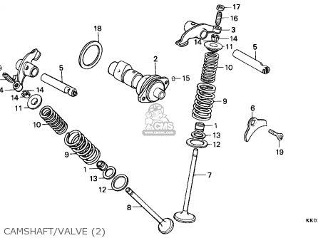 Honda Xr200r 1987 (h) Australia parts list partsmanual