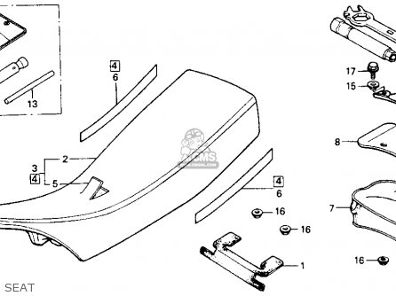 Honda XR200R 1990 (L) USA parts lists and schematics