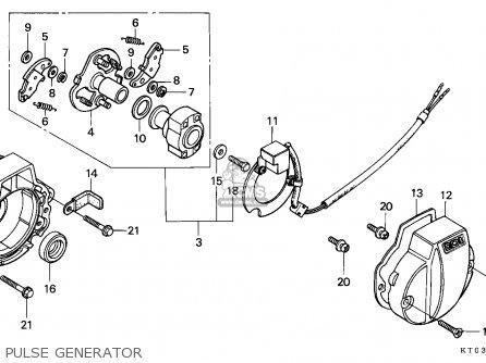 Honda Xr200r 1993 (p) Australia parts list partsmanual