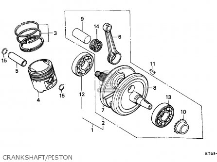 Honda Xr200r 1994 (r) Canada / Ref parts list partsmanual