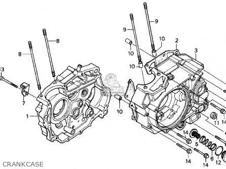 Honda XR200R 1994 (R) USA parts lists and schematics