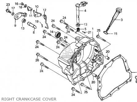 Honda Xr200r 1994 (r) Usa parts list partsmanual partsfiche