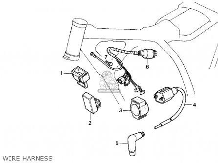 Honda Xr200r 1994 Usa parts list partsmanual partsfiche