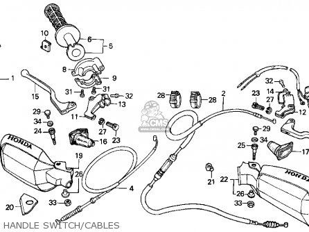 Honda Xr200r 1999 (x) Usa parts list partsmanual partsfiche