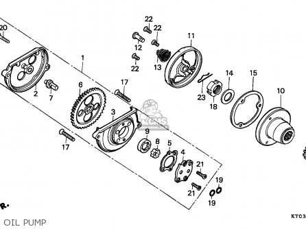 Honda XR200R 2000 (Y) GENERAL EXPORT / KPH parts lists and