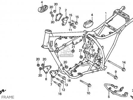 Honda XR200R 2001 (1) USA parts lists and schematics