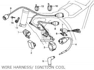 Honda XR200R 2002 (2) MEXICO parts lists and schematics