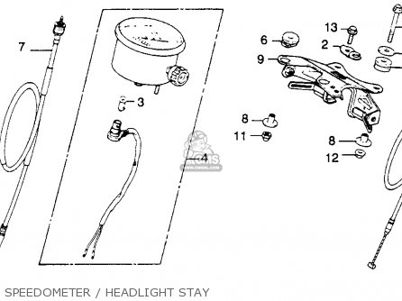 Honda XR250 1979 (Z) USA parts lists and schematics