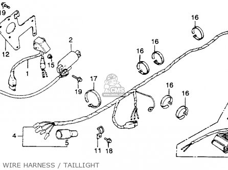Honda Xr250 Wiring Diagram Honda XR250 Carburetor Wiring