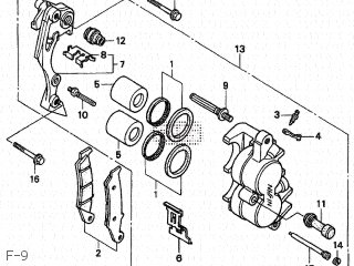 Honda XR250 TYPE III 1996 (T) JAPAN MD30-110 parts lists