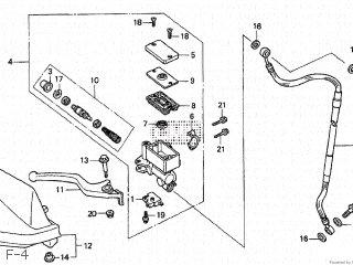 Honda XR250 TYPE III 1998 (W) JAPAN MD30-140 parts lists