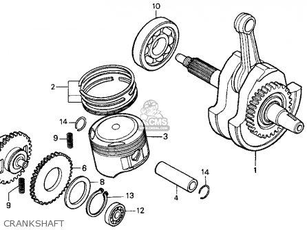 Honda Xr250l 1991 (m) Usa parts list partsmanual partsfiche