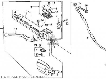 Honda XR250L 1992 (N) USA parts lists and schematics