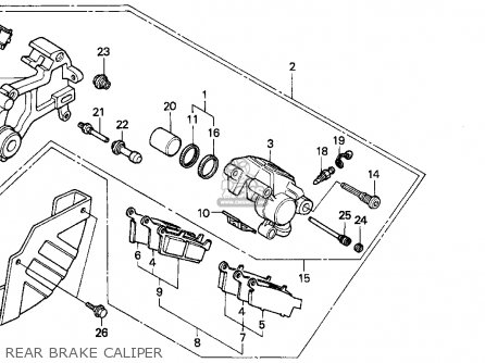 Honda XR250L 1993 (P) USA parts lists and schematics