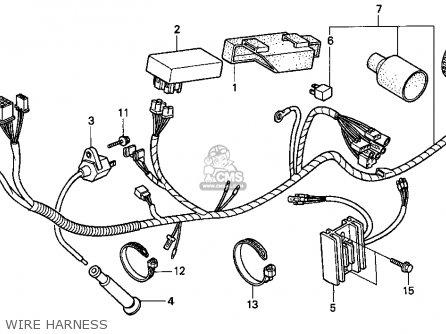 Honda Xr250l 1993 Usa parts list partsmanual partsfiche