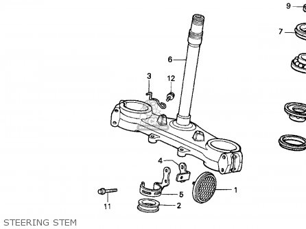 Honda XR250L 1995 (S) USA parts lists and schematics