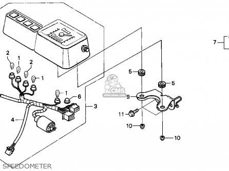 Honda Xr250l 1995 Usa parts list partsmanual partsfiche