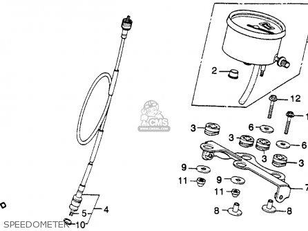 Honda Xr250r 1981 (b) Usa parts list partsmanual partsfiche