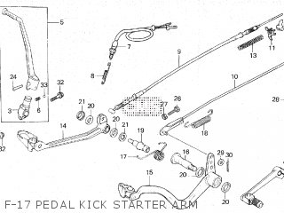 Honda XR250R 1982 (C) parts lists and schematics