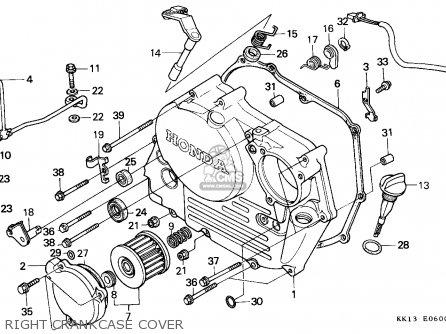 Honda Xr250r 1985 (f) Australia parts list partsmanual
